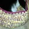 crochet pet bed tina